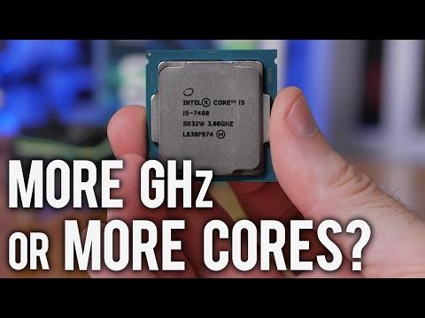 Intel Core i3-7350K vs. Core i5-7400 - More GHz or More Cores?