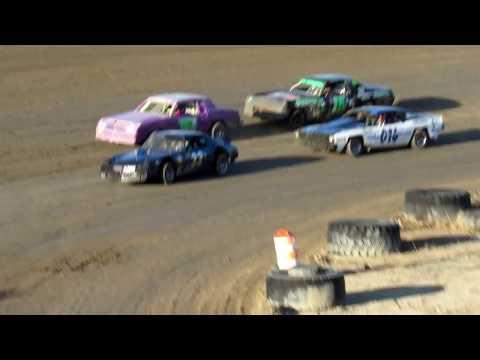 Desert Thunder Raceway I.M.C.A Hobby/Pure Stock Heat Races 4/14/18