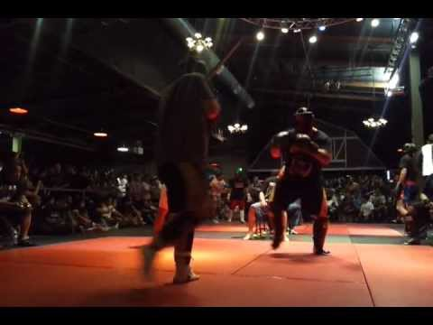 Jason Lopez kickboxing July 16, 2011