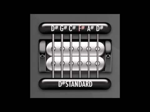 Perfect Guitar Tuner (D# / Eb Standard - Half Step Down = D# G# C# F# A# D#)