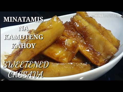 Download COOKING 101 : MINATAMIS NA KAMOTENG KAHOY / SWEETENED CASSAVA / SIMPLE RECIPE / MUST TRY....