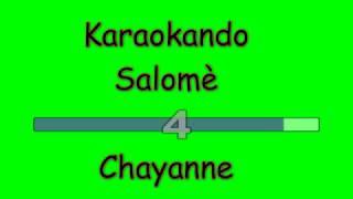 Karaoke Internazionale - Salomè - Chayanne ( Letra )