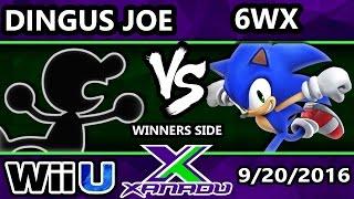s x 168 bmu   dingus joe g vs circa   6wx sonic ssb4 tournament smash wii u smash 4