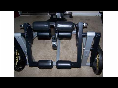 DIY Unilateral Leg Curl / Extension Machine Based On Valor Fitness Leg Machine
