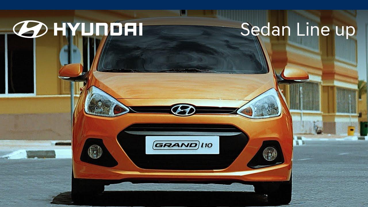 Hyundai 2016 Sedan Line Up Vietnam Ver