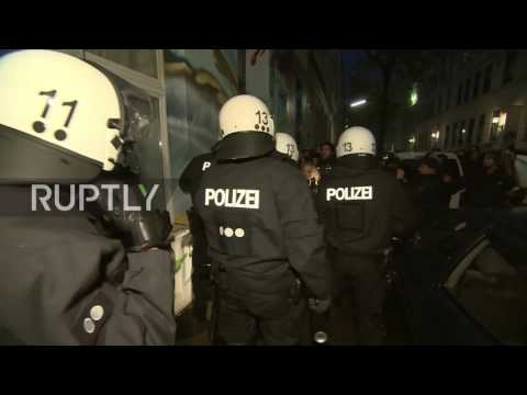 Germany: Hundreds of anti-G20 protesters take to Hamburg