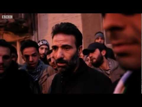 """BBC News - Jeremy Bowen goes inside Syria's """"free"""" town of Zabadani"""