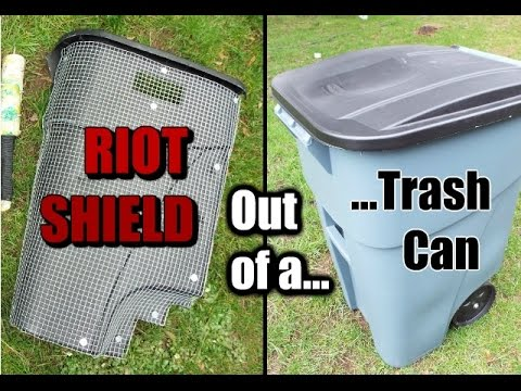 How to Make: a Riot Shield - YouTube