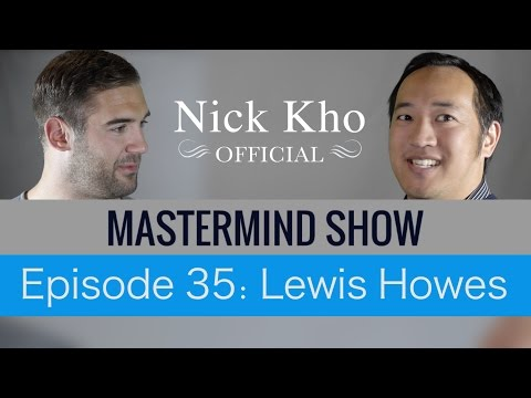 Entrepreneur Advice from Lewis Howes of School of Greatness