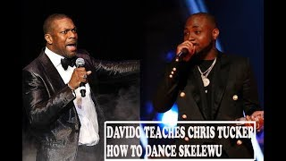 Davido Shows Off His Skelewu Dance Moves To American Actor Chris Tucker