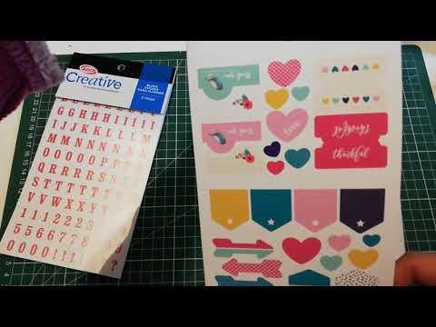 Libros de Sticker Creative adix Chile para planner, Jumbo Os