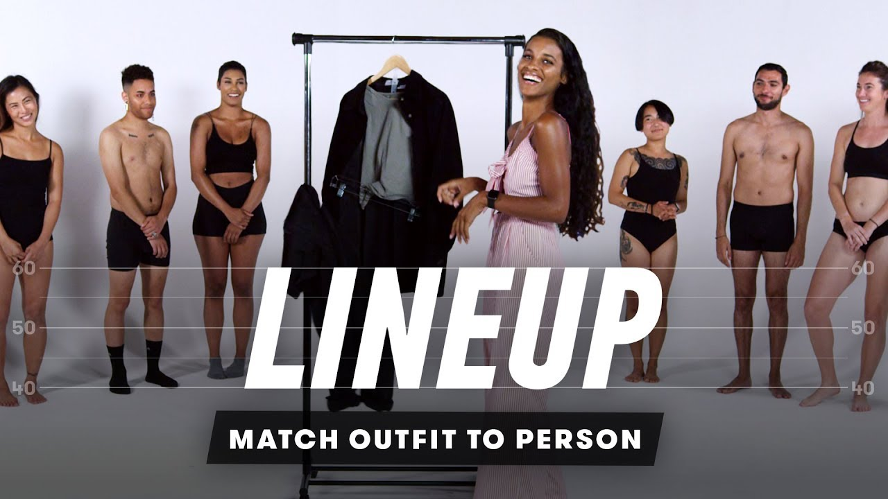 Match Outfit to Person   Lineup   Cut