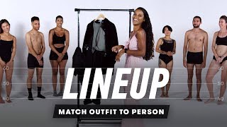 Match Outfit To Person | Lineup | Cut