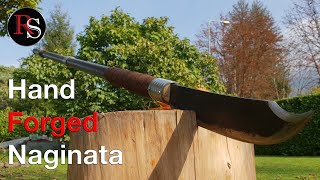 Hand Forged Naginata - Dirty Smith Zombie Apocalypse Weapon Challenge 2018
