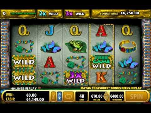 Tesouros maias Bally casinos online de slots