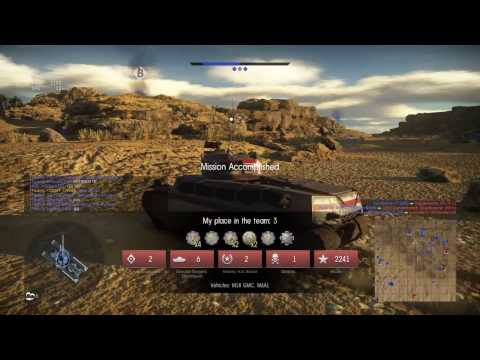 WarThunder / Second battle of El Alamein / Tank M18* Part 1