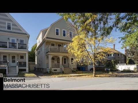 Video of 68 Dartmouth Street | Belmont Massachusetts real estate & homes by Shorey Sheehan