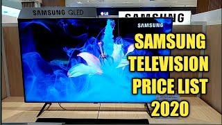 SAMSUNG TELEVISION PRICE LIST  2020 / PHILIPPINES