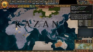 [1.25]Europa Universalis IV Kazan World Conquest Timelapse
