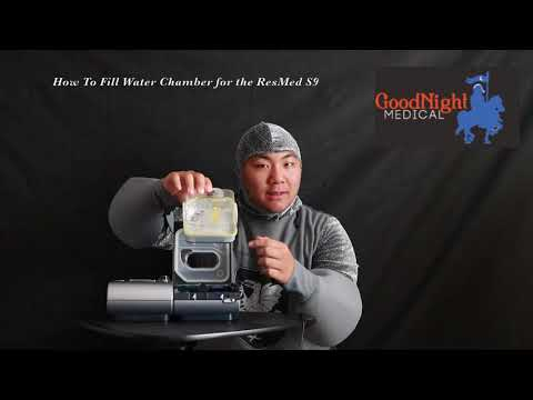How To Clean Your ResMed S9 Water Chamber
