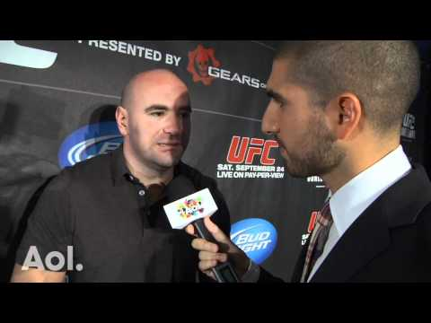 Dana White Talks UFC 135, Boxing Controversy, Larry Merchant And Spike TV
