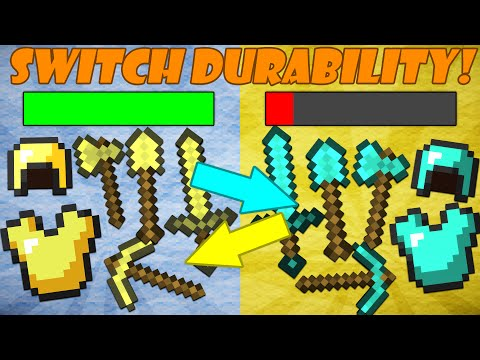 Thumbnail: If Diamond and Gold Tools Switched Durability - Minecraft