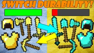 If Diamond and Gold Tools Switched Durability - Minecraft thumbnail