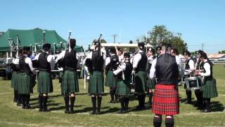 Brisbane Boys College Pipe Band - MSR (4th Place)
