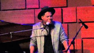 """""""Crazy Bout U"""" by Kenny DeShields @  Jazz at the Bistro - Music at the Intersection Festival 2015"""