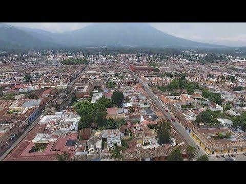 DJI Phantom 4 - Flying Over Antigua Guatemala
