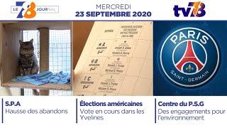 7/8 Le Journal. Edition du 23 septembre 2020
