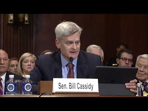 Cassidy introduces LA Eastern District Court nominee Barry Ashe - Senate Judiciary Committee hearing