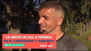 Gabriel Costa declaró para la prensa luego del primer entrenamiento de la selección en Buenos Aires
