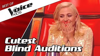 TOP 10 | CUTEST BLIND AUDITIONS in The Voice Kids ever