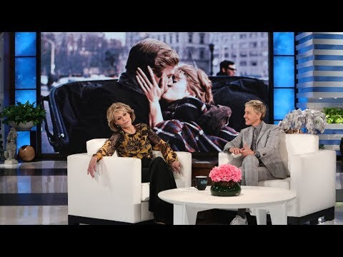 Jane Fonda Talks Being Reunited with Robert Redford... in Bed