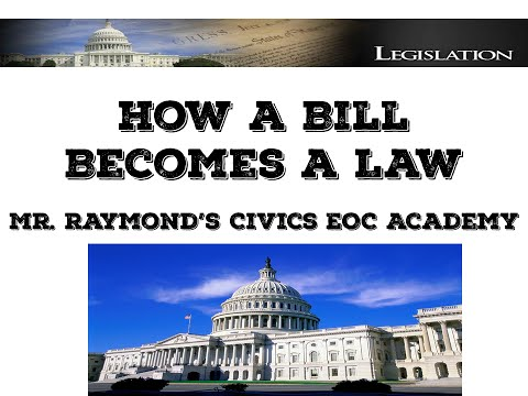 How A Bill Becomes a Law - Congress II