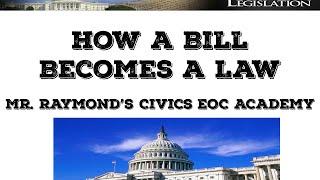How A Bill Becomes a Law - Congress II