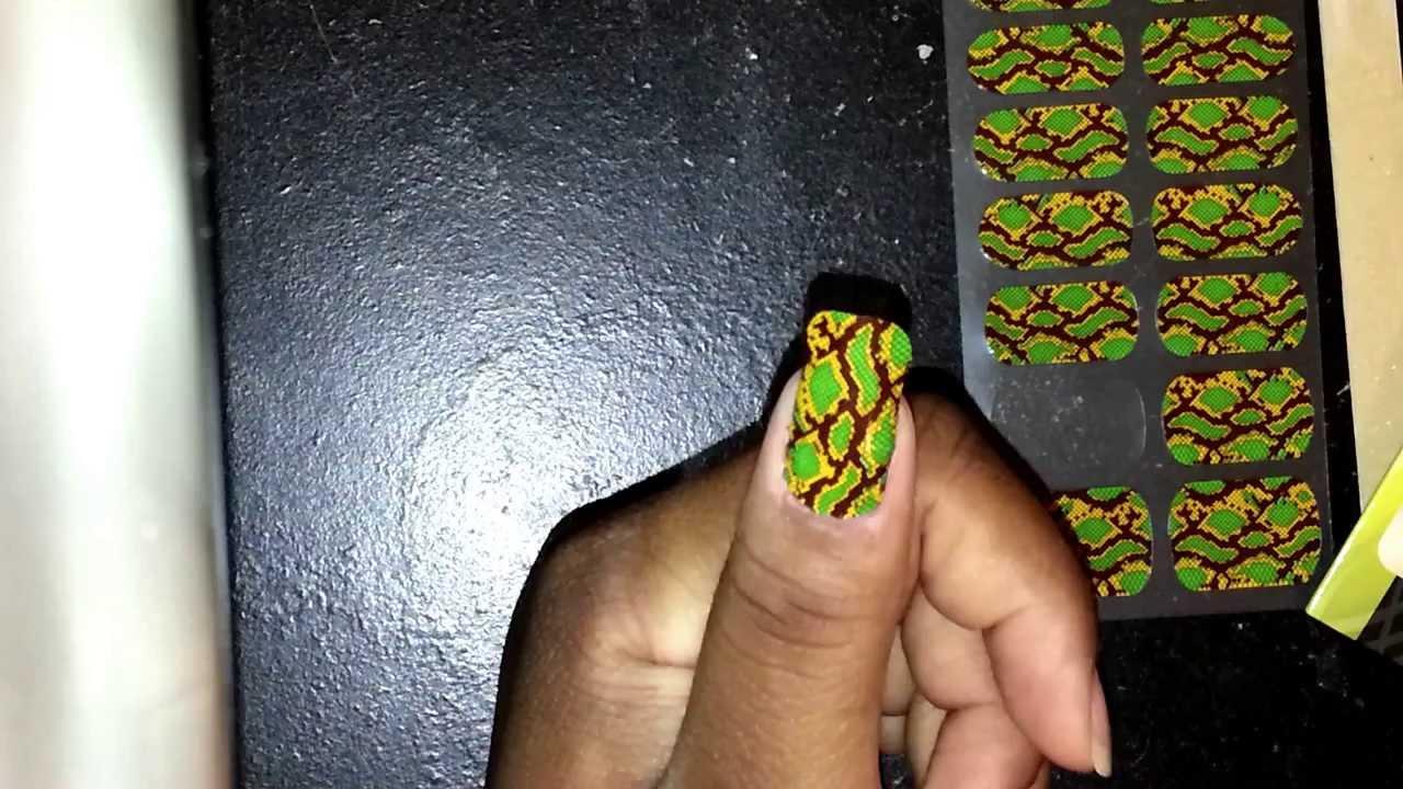 Loreal Paris\'s Nail Stickers Tutorial - YouTube