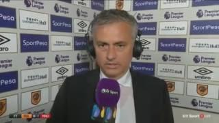 José Mourinho Post Match Interview - Man Utd Vs Hull City (1-0) (Subscribe)