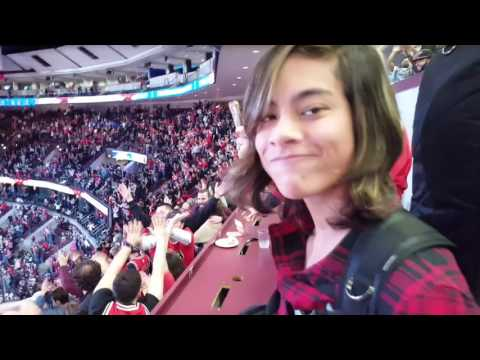 Parker Plays United Center 12-28-16