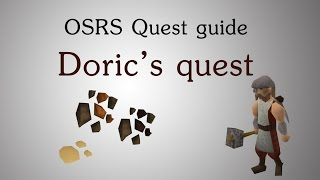 [OSRS] Doric's quest guide