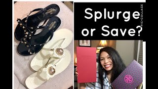 Valentino Jelly Sandals vs Tory Burch | Save or Splurge