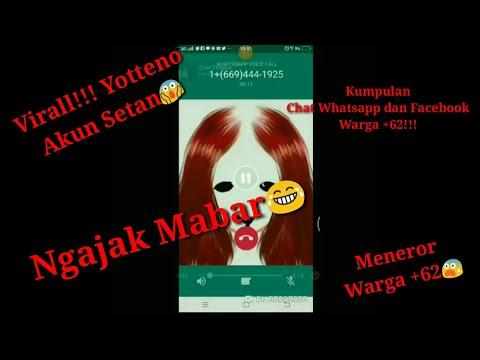 VIRALL!!! KUMPULAN CHAT WHATSAPP DAN FACEBOOK WARGA +62 KE YOTTENO || Bikin Geger Warga net