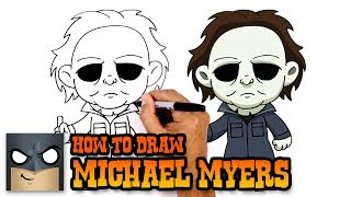 How to Draw Michael Myers | Halloween
