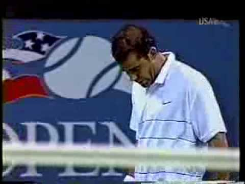 Pete Sampras v Tommy Haas 2002 US Open . Full Mach