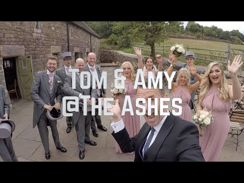 Amy and Tom @ The Ashes Barns Country House Wedding Venue