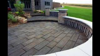 Residential Stamped Concrete Patios Walks & Steps,Design Ideas for Stamped Concrete Patios #1