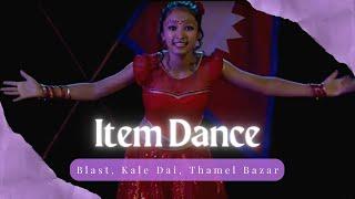 Blast , kale Dai , Thamel Bazar , Nepali dance by Grishma Tamang