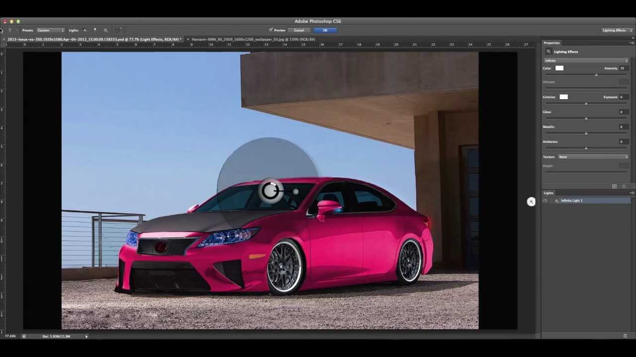 Modified 2013 Lexus ES 350 Virtual Tuning YouTube