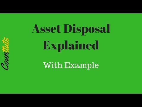 Asset Disposal Explained with T Accounts Example